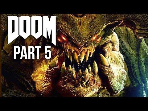 DOOM 4 Gameplay Walkthrough Part 5 - ARGENT ENERGY TOWER (Doom 4 Campaign) 2016
