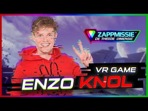 ENZO KNOL SPEELT LIVE VR-GAME! // ZAPPMISSIE