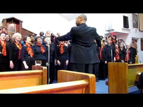 """Sharing A New Song and Boston Community Choir Sing """"Total Praise"""" [HD] - March 13, 2011"""