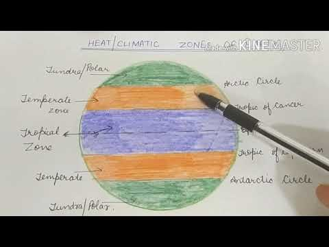Asia: Climatic Conditions and Types (ICSE Std. 8)