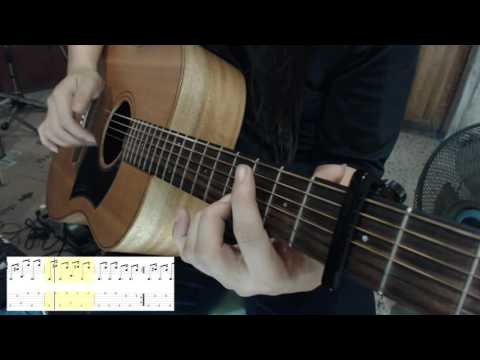 Happy Birthday  [ fingerstyle guitar & TAB ]
