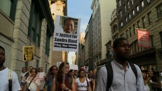 #SayHerName: Protests Demand Justice for Sandra Bland & Black Teen Found Dead in Jail 1 Day Later