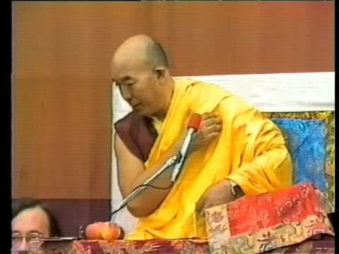 """Tenga Rinpoche 1985 """"The Four Tantra-Classes"""" part 3"""
