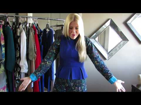 How To Wear Peplum Top Ways