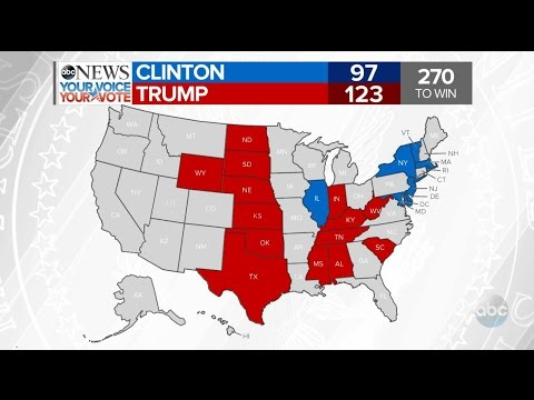 2016 Election Results: NY, KS, ND, SD, WY, NE, TX | ABC News