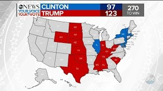 2016 Election Results: NY, KS, ND, SD, WY, NE, TX | ABC News