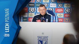 Zapis transmisji na żywo: konferencja prasowa przed meczem z Wisłą Płock