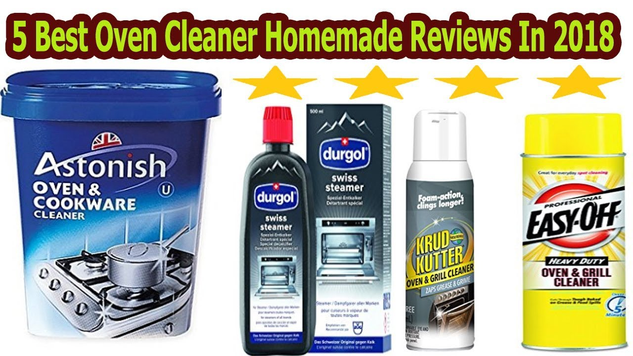 Best Oven Cleaner Homemade Reviews
