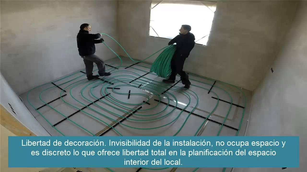 Instalaci n suelo radiante en loza youtube - Instalacion suelo radiante ...