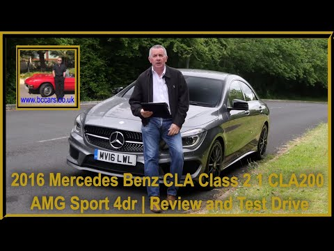 Review and Virtual Video Test Drive In Our 2016 Mercedes Benz CLA Class 2 1 CLA200 AMG Sport 4dr MV1