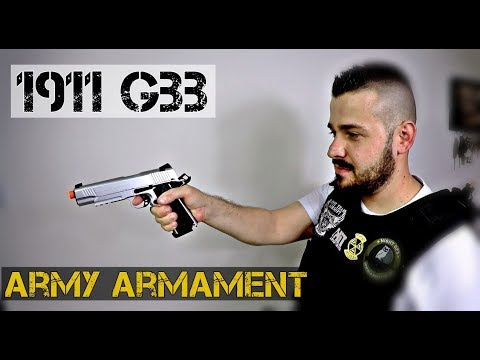 1911 ARMY ARMAMENT R28 GBB | Airsoft Review | FBAIRSOFT