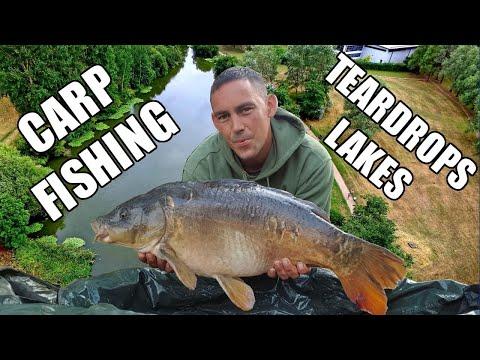 Carp Fishing Teardrops Lakes