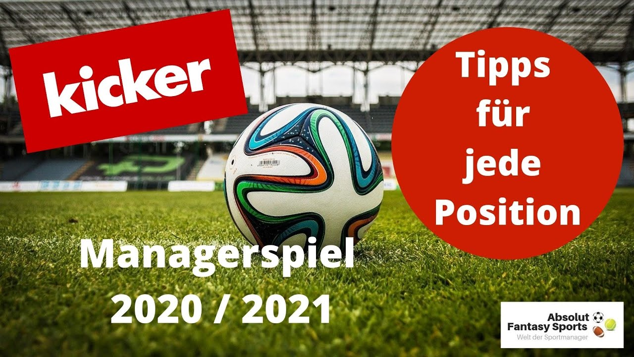 Kicker Managerspiel 2021