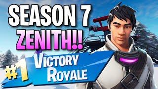 "Season 7 ""Zenith"" Skin!! (13 Frag Solo Victory) - Fortnite: Battle Royale Gameplay"