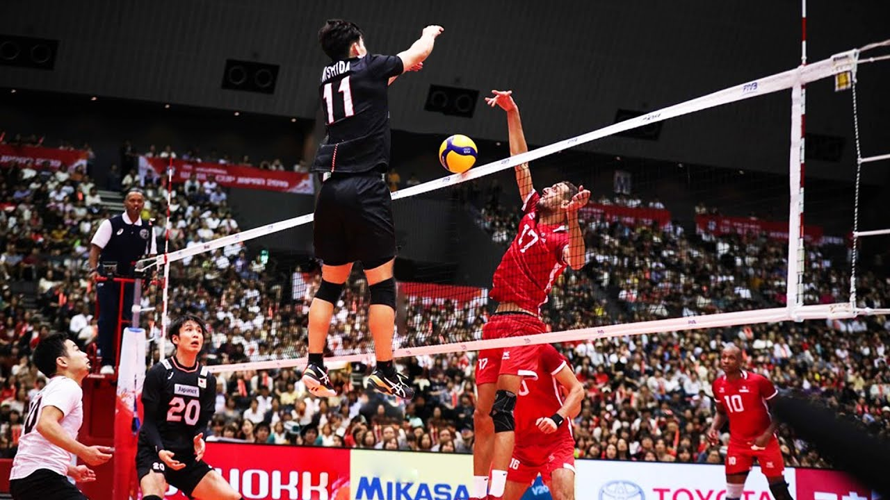 Yuji Nishida | Monster of the Vertical Jump | Volleyball Wolrd Cup 2019 (HD)