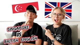 SINGAPORE ENGLISH VS BRITISH ENGLISH (Ft. Noah Yap)