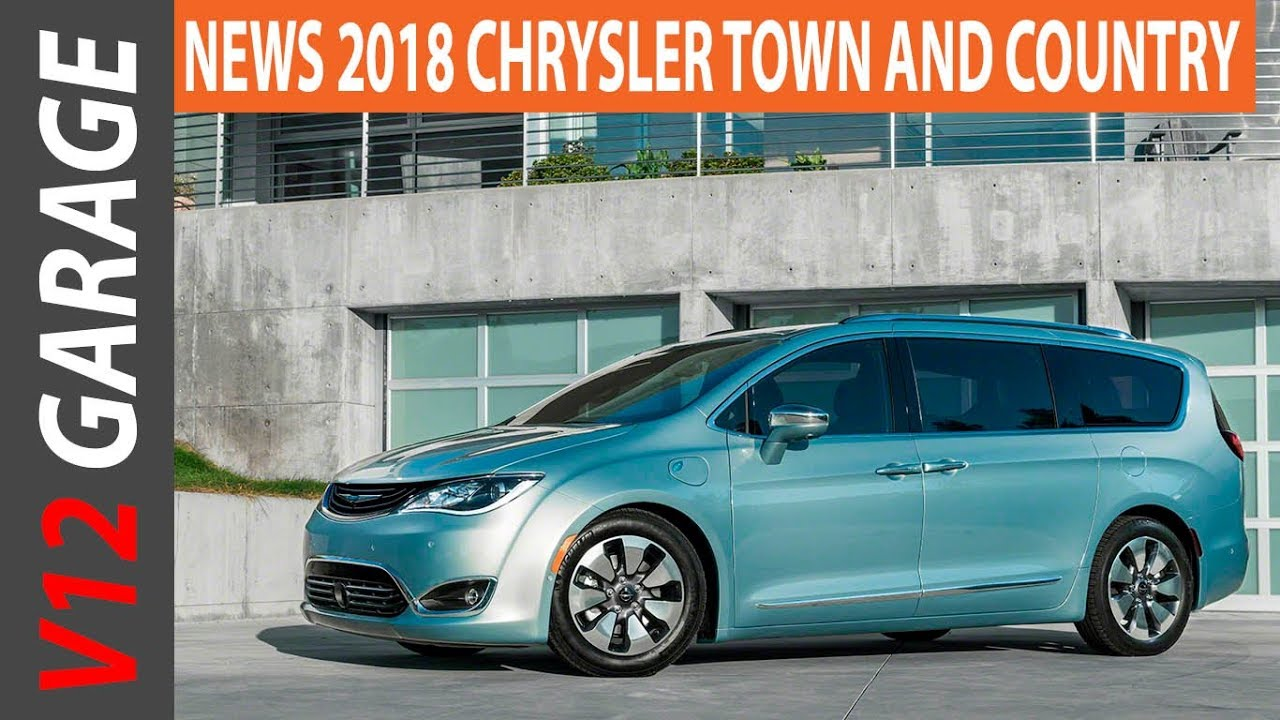 2018 Chrysler Town And Country Minivan Price Release Date