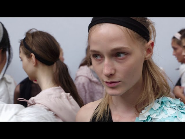 MONCLER GAMME ROUGE Spring-Summer 2018 Show |  Behind the Scenes