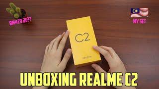 Murah Weh Phone nih! RM429 jee.. Unboxing Realme C2 (Malaysia)