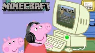 Gambar cover Pepa Prase igra Minecraft (parodija)