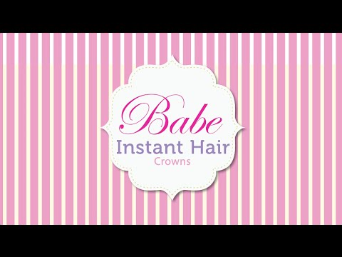 How to install babe instant hair crown extensions youtube pmusecretfo Images