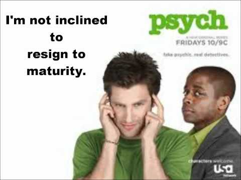 Psych Theme song (Lyrics)