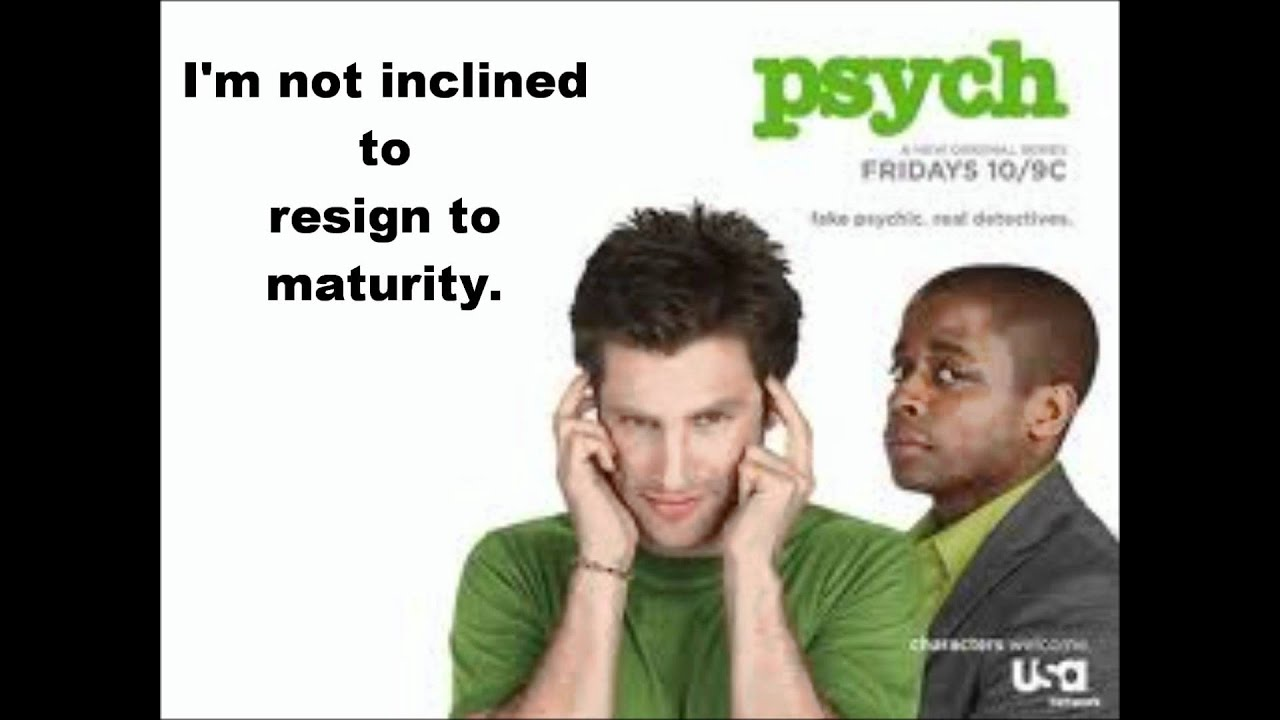 Psych theme song lyrics (I know you know by the Friendly ...