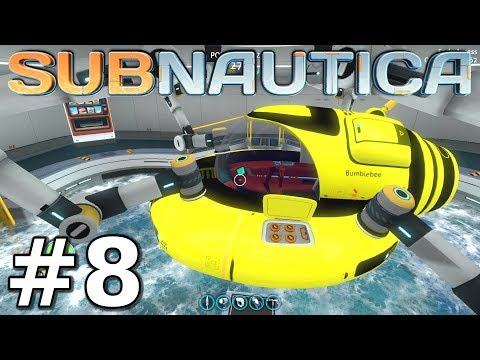 SEAMOTH UPGRADES & VENDING MACHINE - Subnautica Gameplay - Episode 8