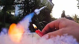 Kleine Rakete selber bauen!!