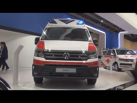 Volkswagen Crafter 2.0 TDI 177 hp 8AT Ambulance (2019) Exterior and Interior