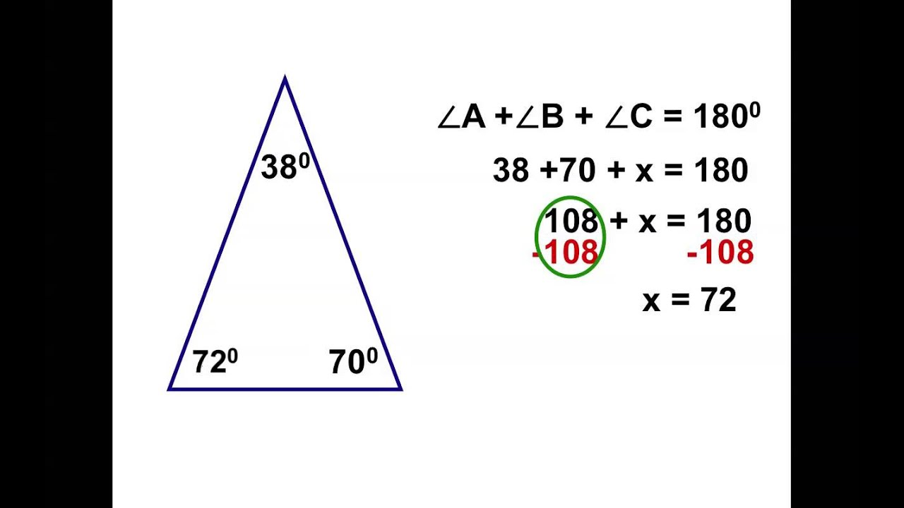 8th Grade Chapter 3.2: Interior And Exterior Angles Of A Triangle