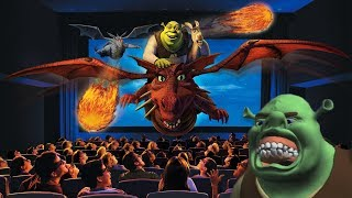 Yesterworld: The Strange History of Shrek 4-D at Universal Studios - How 'Shrek' Saved DreamWorks