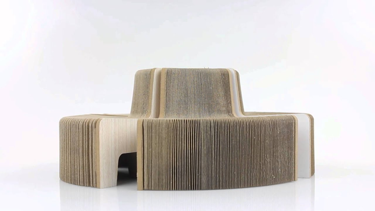 Flexible Paper Chair