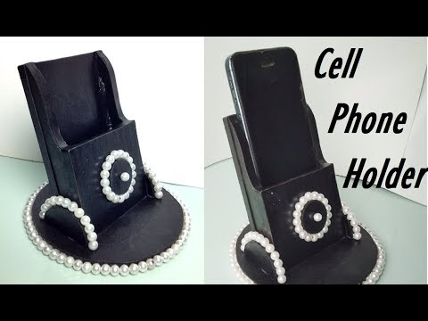 DIY Cell Phone Holder | How to Make Cell Phone Holder Inspired |