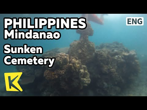 【K】Philippines Travel-Mindanao[필리핀 여행-민다나오]카미귄, 바다 속 공동묘지/Sunken Cemetery/Camiguin Island/Cross