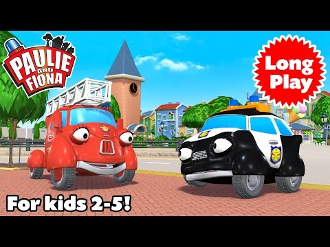 """Paulie and Fiona - Non-Stop! Long Play """"Bundle 01"""" - Preschool animation - 4 episodes in a row"""