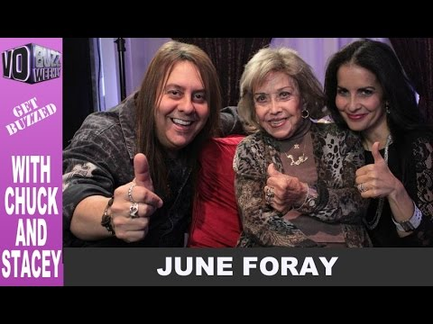 Voice of Rocky the Flying Squirrel June Foray on VO Buzz Weekly Ep.83