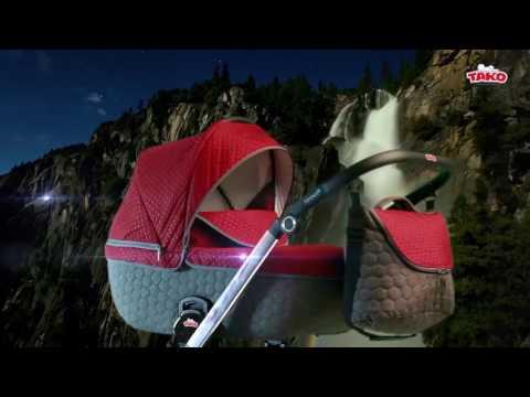 Видео-презентация детской коляски 2в1 - Tako Jumper 4. Новинка 2017 года