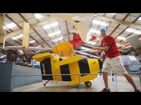 World's Smallest Airplane?! Pima Air and Space Museum Tour