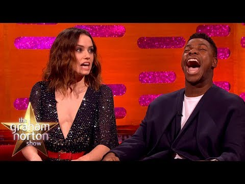Download Youtube: Daisy Ridley Couldn't Handle It When She Got the Star Wars Part | The Graham Norton Show
