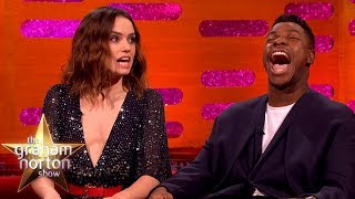 Daisy Ridley Couldn't Handle It When She Got the Star Wars Part | The Graham Norton Show thumbnail