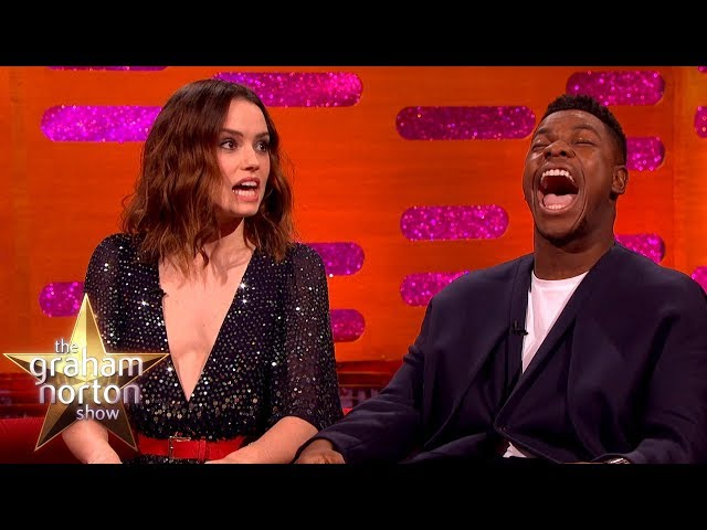 Daisy Ridley Couldn't Handle It When She Got the Star Wars Part   The Graham Norton Show