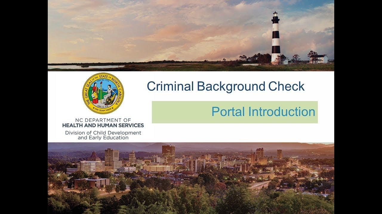 Home Page- Criminal Record Check