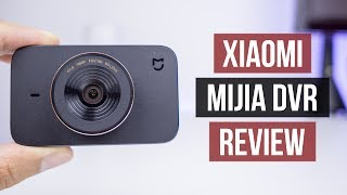 xiaomi MiJia Car Dash Cam DVR Review
