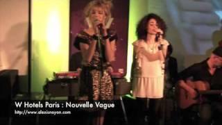 W Hotels Paris : Nouvelle Vague concert privé
