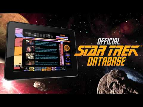 Star Trek Padd  - The iPad app created by CBS Interactive - mobile division