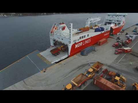 "Nor Lines' LNG vessel ""Kvitnos"""