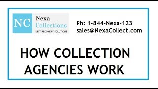How a collection agency recovers bad debt