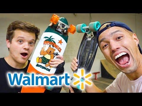 PENNY BOARD VS CRUISER BOARD   Walmart Edition!