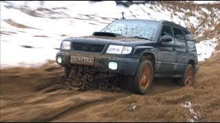 Subaru turbo против Внедорожников! Как сжечь машину? offroad  битва Кроссоверов, внедорожников 2017.
